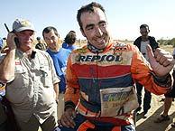 El primer español que gana el Dakar